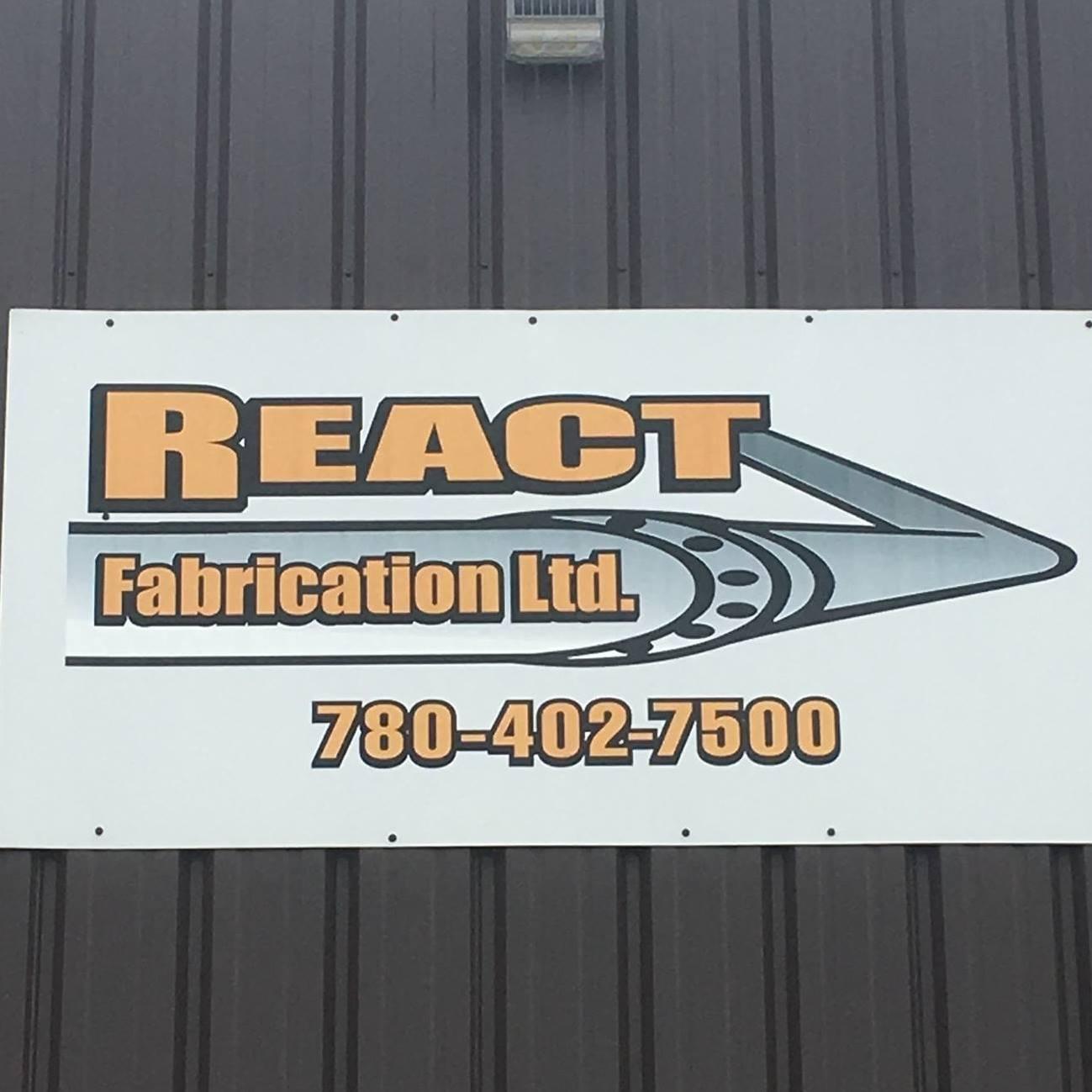React Fabrication Ltd logo