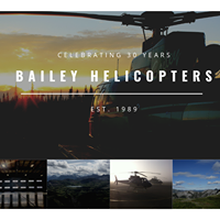 Bailey Helicopters logo