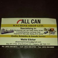 All Can Machine Shop logo
