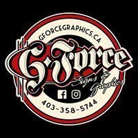 G-Force Signs & Graphics logo