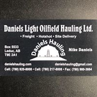 Daniels Light Oilfield Hauling logo