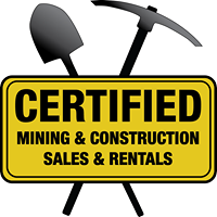 Certified Mining & Construction Sales & Rentals logo