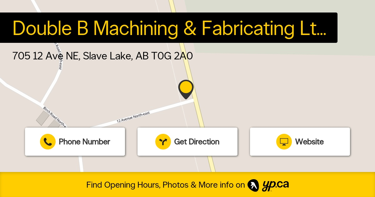 Double B Machining & Fabricating Ltd logo