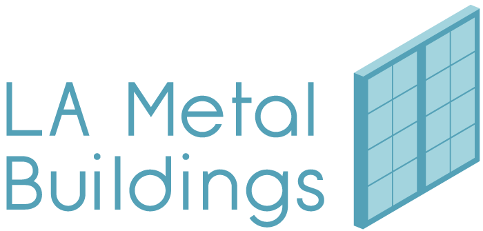 LA Metal Buildings logo