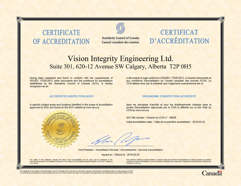 Vision Integrity Engineering Ltd logo