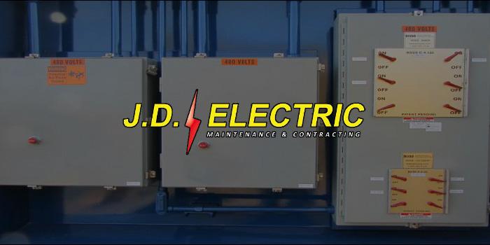 J D Electric logo