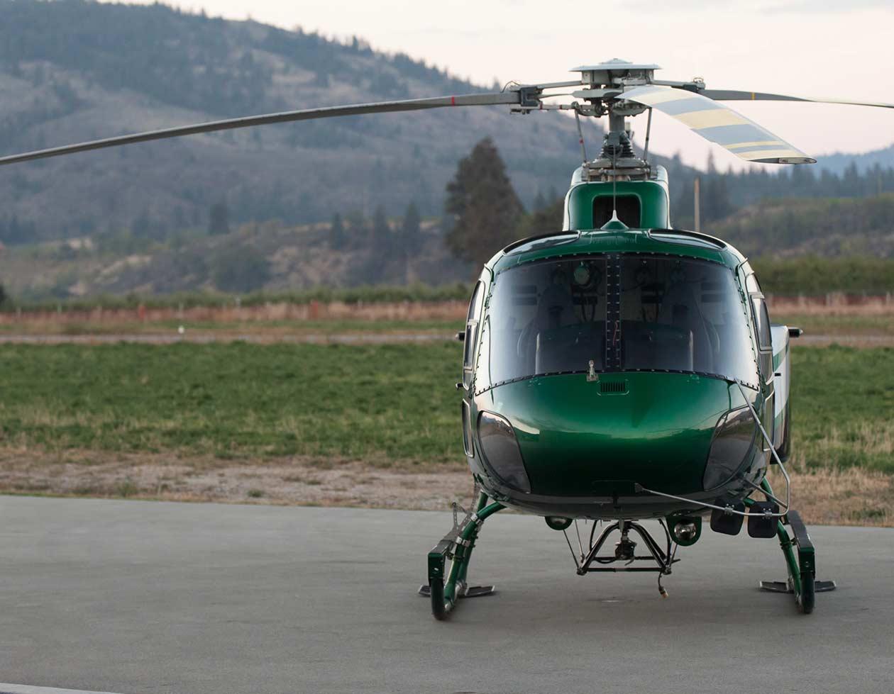Wood Buffalo Helicopters logo