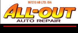All-Out Auto Repair logo