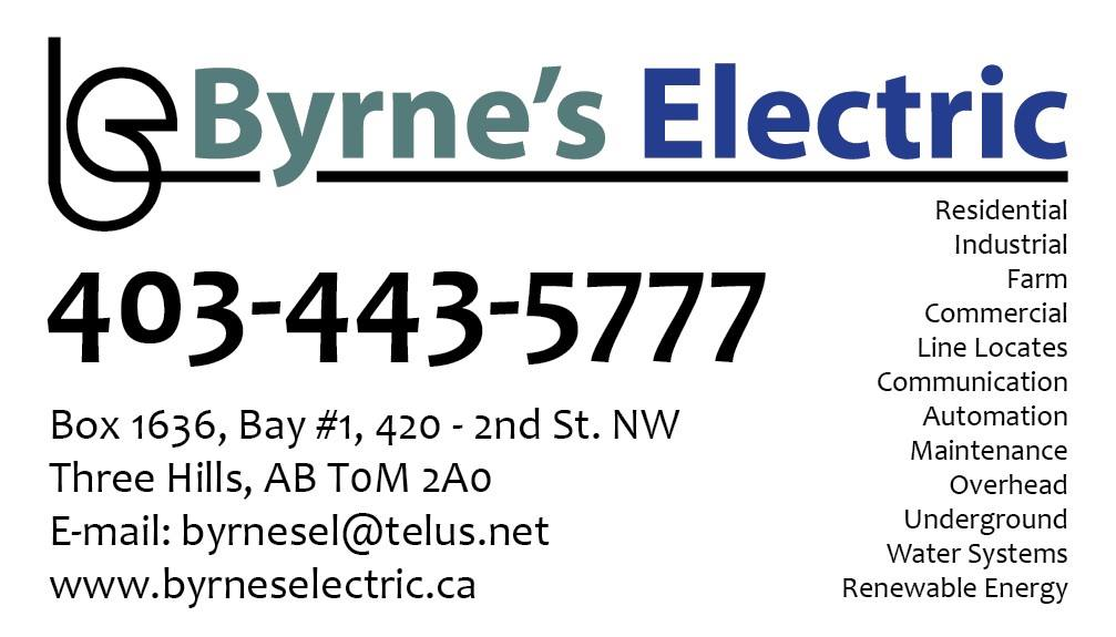 Byrne's Electric logo