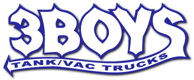 3 Boys Tank /  Vac Trucks logo