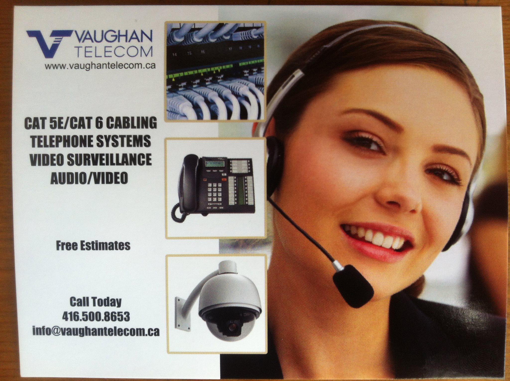 Vaughan Telecom logo