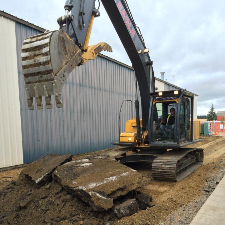 Photo uploaded by Eagle Excavating