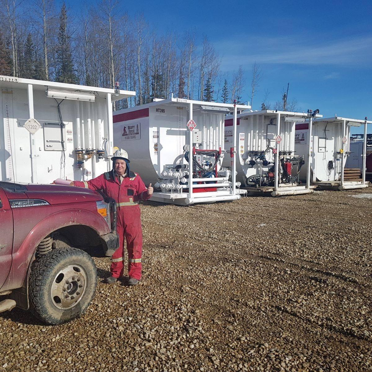 Photo uploaded by Heavy Horse Oilfield Rentals