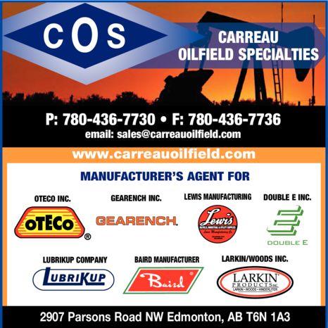 Yellow Pages Ad of Carreau Oilfield Specialties