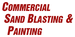 Commercial Sand Blasting & Painting logo