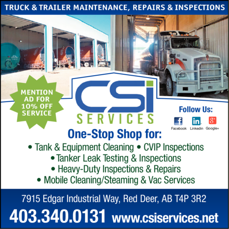 Yellow Pages Ad of Csi Services