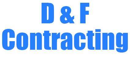 D & F Contracting logo