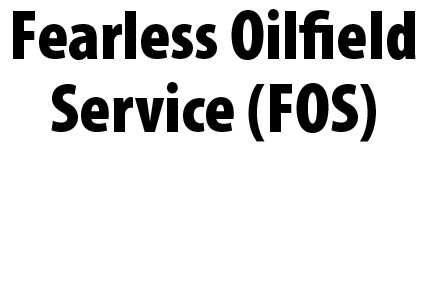 Fearless Oilfield Service (FOS) logo