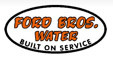 Ford Bros Water Service logo