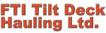 FTI Tilt Deck Hauling logo