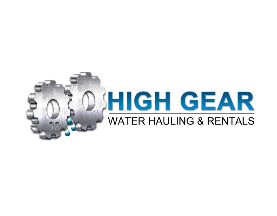 High Gear Water Hauling & Rentals logo