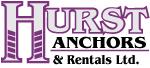 Hurst Anchors & Rentals Ltd logo