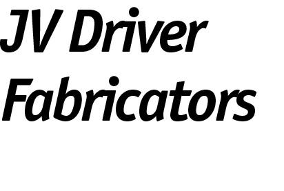 JV Driver Fabricators logo