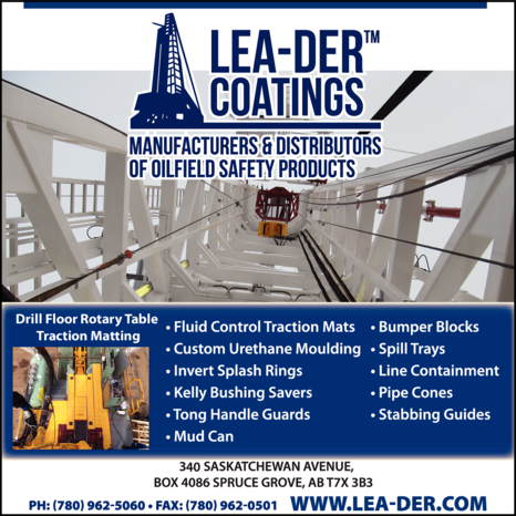 Yellow Pages Ad of Lea-Der Coatings