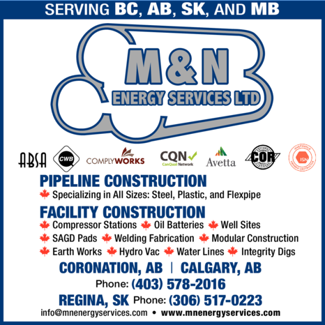 Yellow Pages Ad of M & N Energy Services Ltd