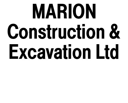 Marion Construction & Excavation Ltd logo