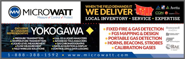 Yellow Pages Ad of Microwatt Controls Ltd