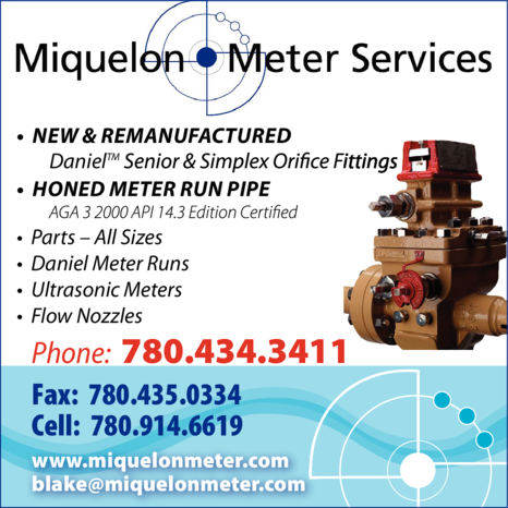 Yellow Pages Ad of Miquelon Meter Services Ltd