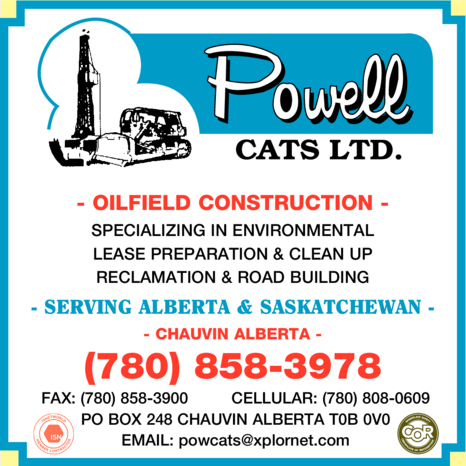 Yellow Pages Ad of Powell Cats Ltd