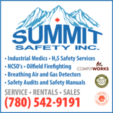 Yellow Pages Ad of Summit Safety Inc