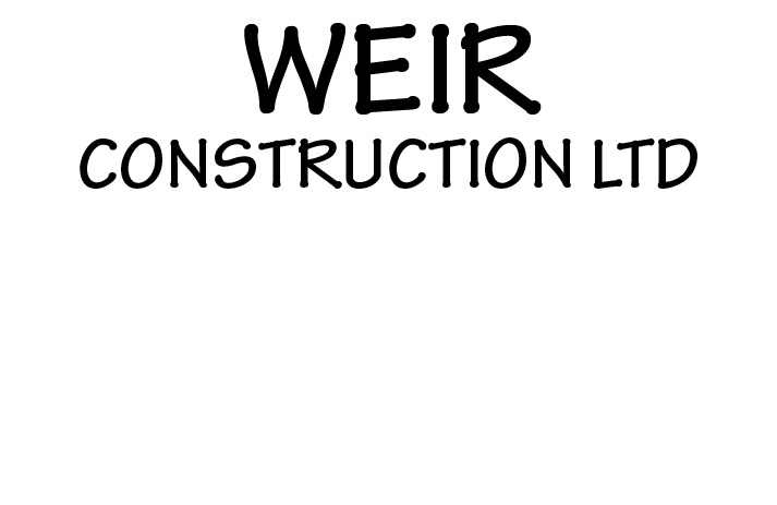 Weir Construction Ltd logo