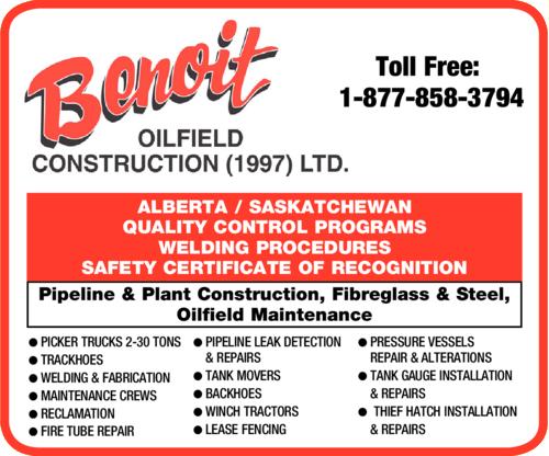 Advertise Banner for http://www.benoitoilfield.ca/