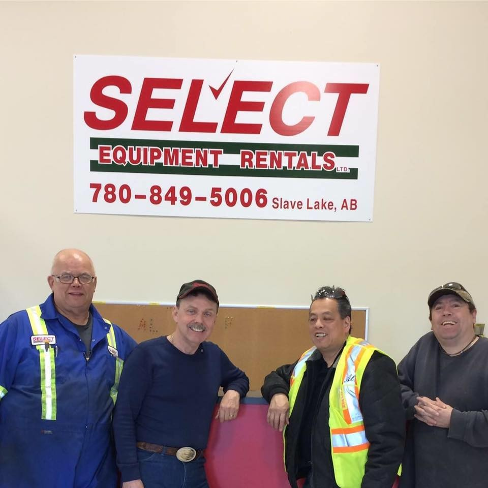 Select Equipment Rentals logo