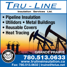 Yellow Pages Ad of Tru-Line Insulation Services Ltd