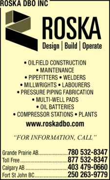 Print Ad of Roska Dbo Inc.