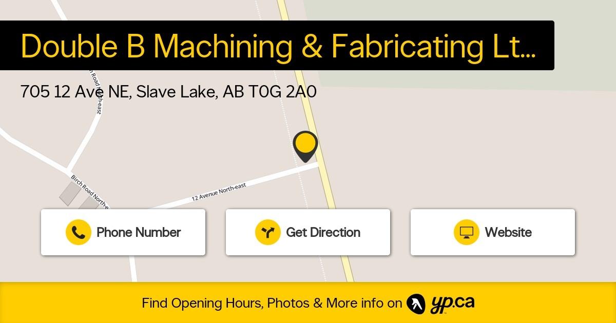 Photo uploaded by Double B Machining & Fabricating Ltd
