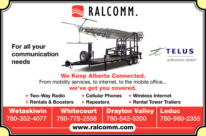 Print Ad of Ralcomm Ltd