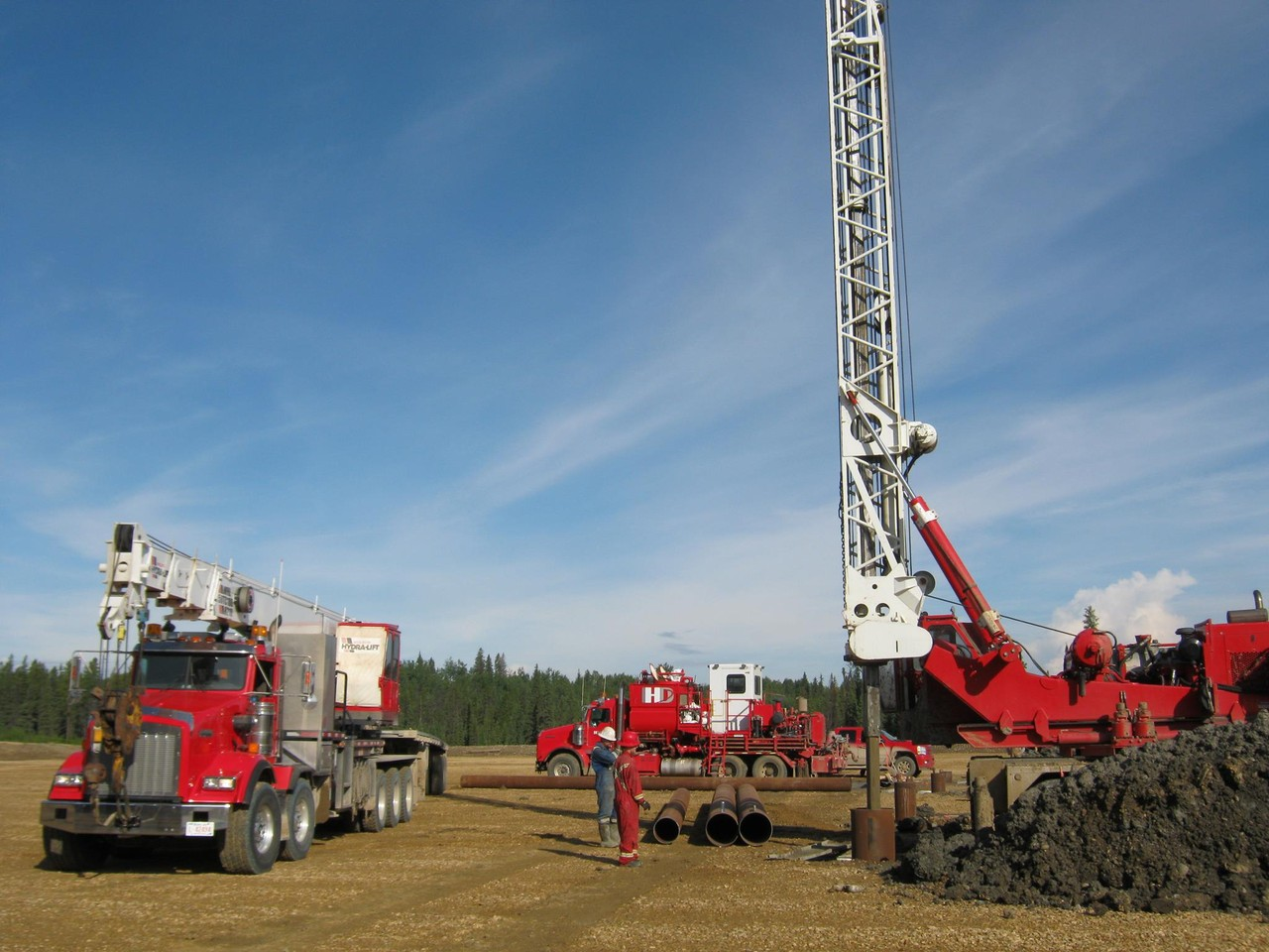 Photo uploaded by Ironhorse Drilling Services