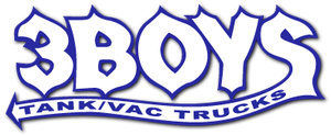 3 Boys Tank / Vac Trucks logo