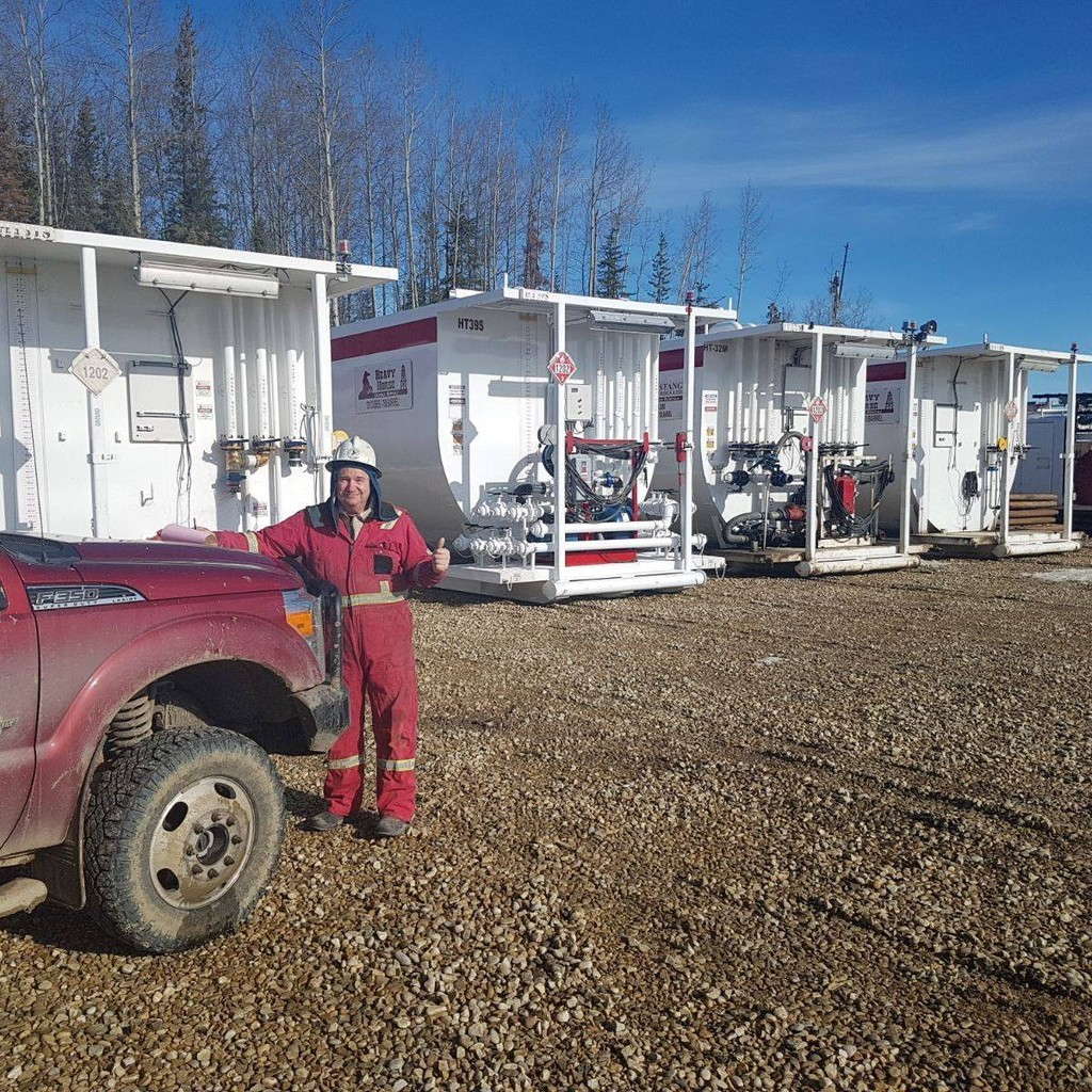 Photo uploaded by Heavy Horse Oilfield Rentals