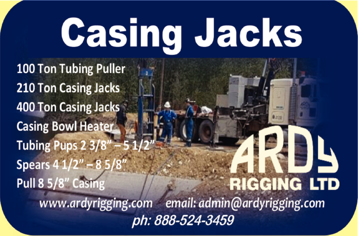 Yellow Pages Ad of Ardy Rigging Ltd