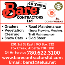 Yellow Pages Ad of Bare Contractors Ltd