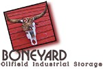 Boneyard Oilfield Industrial Storage logo