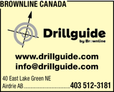 Yellow Pages Ad of Brownline Canada