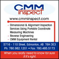 Print Ad of Cmminspect Inc