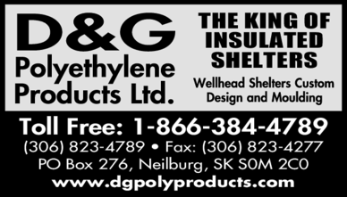 Yellow Pages Ad of D & G Polyethylene Products Ltd